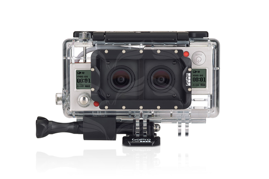 GoPro 3D sistema / Dual HERO 3D System (for HERO3+ BLACK)