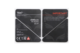DJI Inspire 1 termo lipdukai / TB47 Battery Insulation Sticker / Part 50