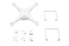 DJI P3 Shell (Includes Top & Bottom Covers) (Sta) / Part 72