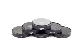 PolarPro Filters Phantom3 (PL, ND8, ND16, ND32, ND8/PL, ND16/PL) 6-Pack