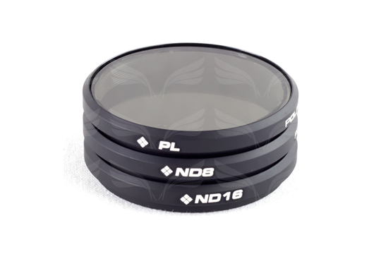PolarPro Filters OSMO / Inspire1 (PL, ND8, ND16) 3-Pack