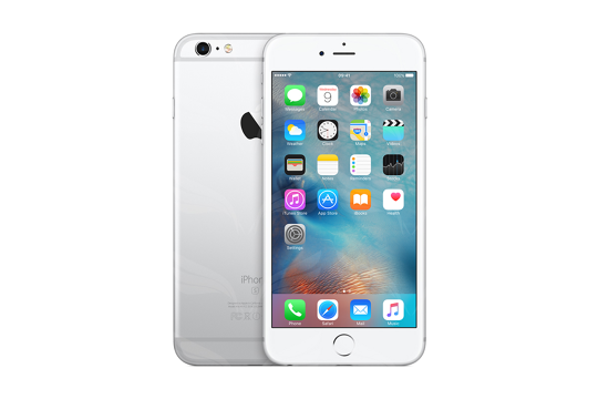 Apple iPhone 6S Plus - Sidabrinė