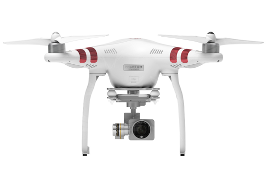 DJI P3 Aircraft 5.8G (excludes Remote Controller and Battery Charger) (Sta) / Part 112