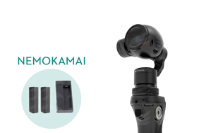 DJI Osmo + 2 extra Betteries + extra charger