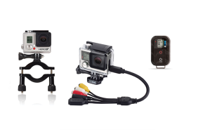 GoPro WiFi Remote + Rollbar Mount + Combo Cable