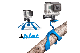 Splat Lankstu trikojis GoPro ir kitoms veiksmo kameroms / Flexible Tripod for GoPro and Action cameras