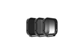 PolarPro Filtrai Venture 3-Pack for Hero 5 Black (Includes: PL, ND8, ND8-GR) (Includes Hard Case)
