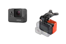 GoPro HERO5 Black + BONUS Bite Mount with Floaty