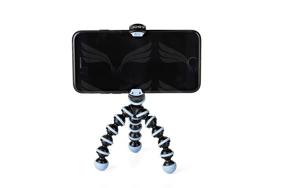 JOBY telefono trikojis (juodos ir mėlynos spalvos) / Gorillapod Mobile Mini Black Black/Blue