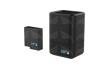 GoPro Dvigubas baterijų įkroviklis + Baterija / Dual Battery Charger (Hero5 Black)