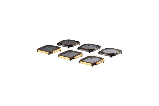 PlarPro Cinema serijos 6 filtrų komplektas skirtas DJI Mavic Pro dronui