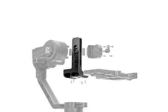 ZHIYUN Crane 2 traukos plokštė / Gravity Plate for EOS 1DX