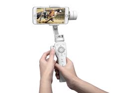 ZHIYUN Smooth 4 stabilizatorius telefonui (Baltas)