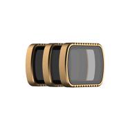 PolarPro Cinema serijos SHUTTER kolekcijos 3 filtrų komplektas skirtas DJI Osmo Pocket