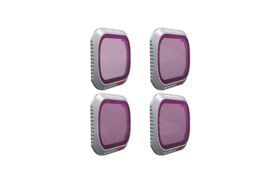 PGYTECH filtrai / Filter for DJI MAVIC 2 PRO - ND/PL SET (Professional) (ND8/PL ND16/PL ND32/PL ND64/PL)