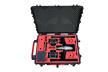 MC-Cases Profesionalus lagaminas Skirtas Inspire 2 dronui su kamera X4S/X5S ir iki 20 baterijų su objektyvais