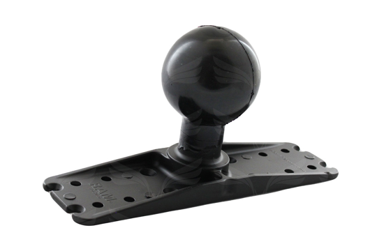 RAM Base 11'' X 3'' with 3 3/8'' Ball.