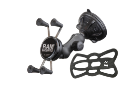 RAM X-GRIP laikilis su siurbtuku / Mount With Suction Cup
