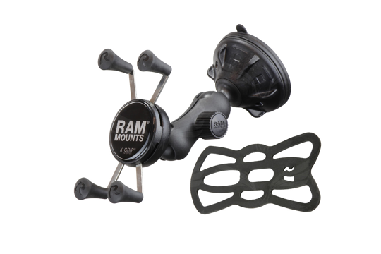 RAM X-GRIP laikilis su siurbtuku / Mount With Suction Cup