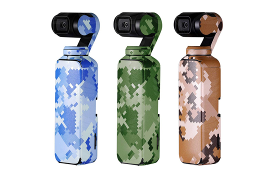 PGYTECH Lipdukai / Skins for DJI Osmo Pocket stabilizer (Camouflage Set, 3pcs)