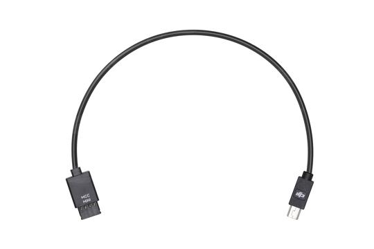 DJI Ronin-S Multi-Camera valdymo laidas / Control Cable (Mini USB) DJI Panasonic