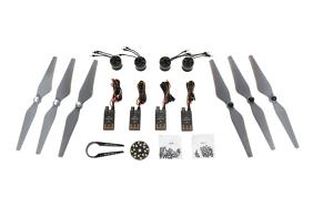 DJI E305 komplektas (4x Motor/ESC, 3x pair props, Accessories)
