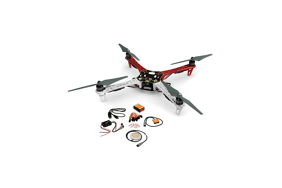 DJI F450 ARF komplektas kit (with motors, ESC, props)