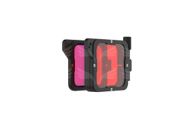 PolarPro Divemaster Filtrų Rinkinys Red + Magenta Supersuit Edition skirtas Hero7/6/5 / Filter Kit