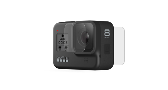 GoPro HERO8 grūdinto stiklo lęšis + ekrano apsauga / GoPro HERO8 Tempered Glass Lens + Screen Protectors