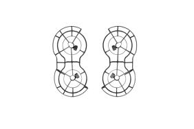 DJI Mavic Mini Propelerių apsaugos / 360° Propeller Guard