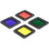 LUME CUBE filtrai RBGY spalvų 4vnt. rinkinys