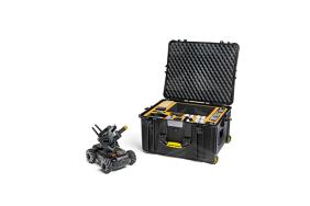 HPRC2730W dėklas / lagaminas su ratukais DJI Robomaster S1 mokomajam robotui