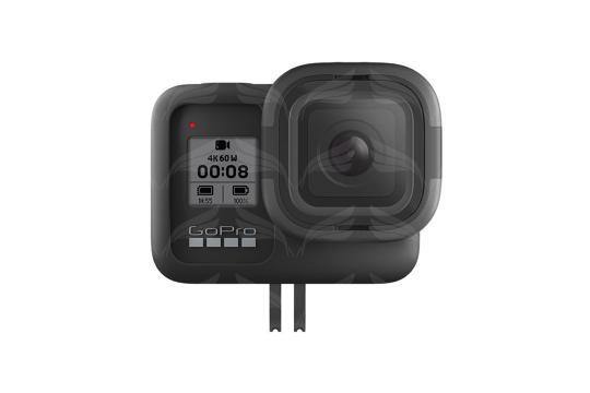 GoPro HERO8 apsauginis silikoninis rėmelis su lęšiu / Rollcage