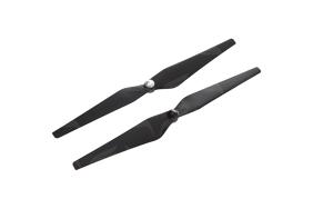 DJI 12 x 4.2'' savaime užsiveržiantys juodi propeleriai / Self tightening black props