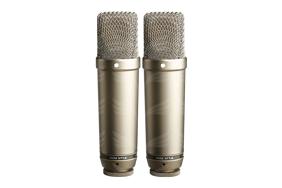 "Rode NT1-A kondensatorinių mikrofonų pora / Matched Pair 1"" Cardioid Condenser Microphones"