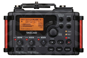 Tascam DR-60DMKII 4 takelių rašiklis / 4-track Recorder/Mixer for Production Audio