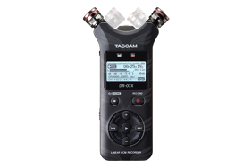 Tascam DR-07X rankinis rekorderis / Stereo Handheld Digital Audio Recorder and USB Audio Interface