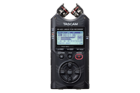 Tascam DR-40X rankinis rekorderis / Four Track Digital Audio Recorder and USB Audio Interface