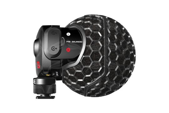 Rode Stereo VideoMic X mikrofonas vaizdo kamerai / Broadcast-grade stereo on-camera microphone