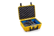 B&W Type 1000 kietas lagaminas GoPro HERO8 veiksmo kamerai / Waterproof Outdoor Case (yellow)