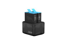 GoPro HERO9 Black dvigubas baterijų įkroviklis / Dual Battery Charger + Battery