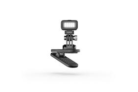 GoPro Zeus Mini magnetinis segtukas su LED šviestuvu / Magnetic Swivel Clip Light