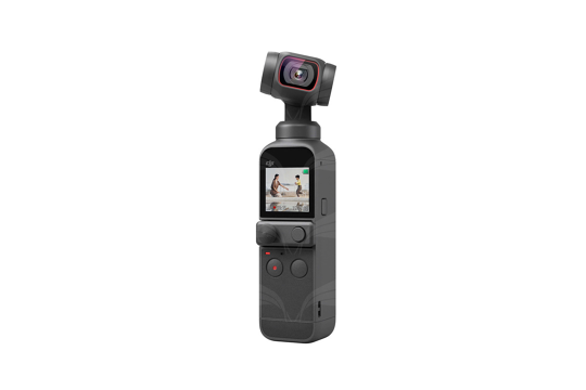 DJI Pocket 2 kamera su stabilizatoriumi
