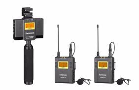 Saramonic UwMic9 Kit 13 (TX9 +TX9+SP-RX9) prisegami bevieliai mikrofonai