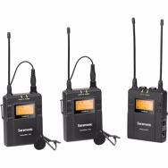 Saramonic UwMic9 (TX9 +TX9 +RX9) prisegami bevieliai mikrofonai