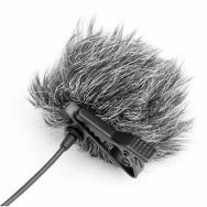Saramonic apsauga nuo vėjo prisegamiems mikrofonams LM-WS 3 vnt. / Furry Windscreen for lav mics
