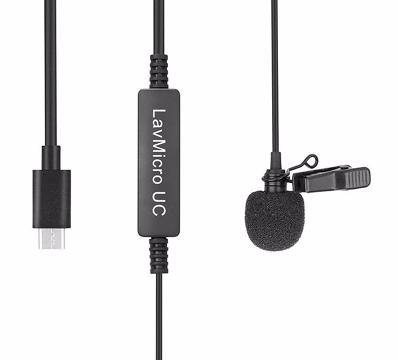 Saramonic LavMicro UC prisegamas USB-C mikrofonas / Lavalier Mic For USB-C