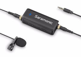Saramonic LavMic Audio adapteris ir Lavalier mikrofonas