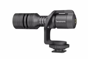 Saramonic Vmic Mini kompaktiškas mikrofonas telefonams ir DSLR kameroms