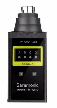Saramonic SR-XLR4C XLR siųstuvas / Plug-on XLR Transmitter